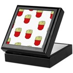 French Fries Dots Keepsake Box