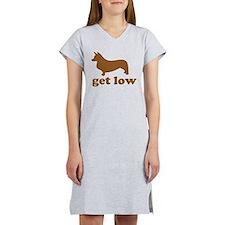 Get Low Corgi Women's Nightshirt
