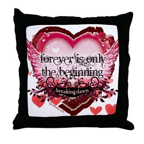 Breaking Dawn Forever by Twibaby Throw Pillow