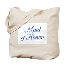 Maid of Honor (blue) Tote Bag