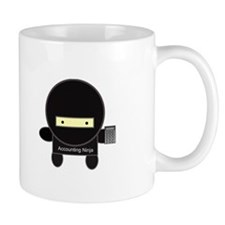 Accounting Ninja Small Mugs