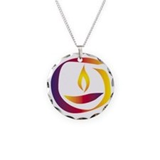 Rainbow Chalice Necklace