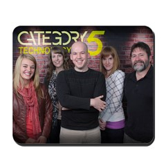 Category5.TV Season 5 Team Mousepad