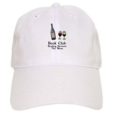 Reading Between Wines Baseball Cap