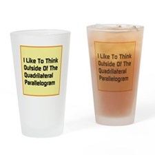 Quadrilateral Parallelogram Drinking Glass