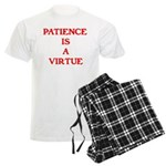 PATIENCE IS A VIRTUE™ Men's Light Pajamas