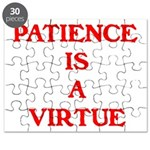 PATIENCE IS A VIRTUE™ Puzzle