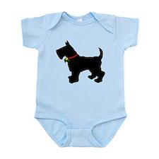 Scottish Terrier Silhouette Infant Bodysuit