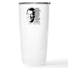 """Reagan """"Outlaw Russia Forever"""" Ceramic Travel Mug"""