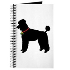 Poodle Silhouette Journal