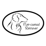 Flat-coated Retriever Bumper Stickers