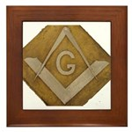 THE MORAL COMPASS VII Framed Tile