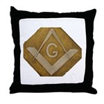 THE MORAL COMPASS VII Throw Pillow