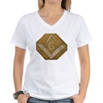 THE MORAL COMPASS VII Women's V-Neck T-Shirt
