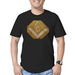 THE MORAL COMPASS VII Men's Fitted T-Shirt (dark)
