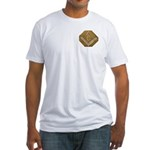 THE MORAL COMPASS VII Fitted T-Shirt