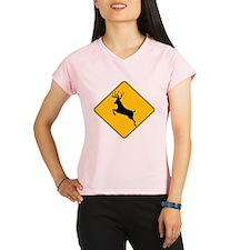 Deer crossing Performance Dry T-Shirt