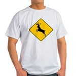 Deer crossing Light T-Shirt
