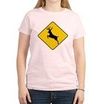 Deer crossing Women's Light T-Shirt