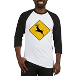 Deer crossing Baseball Jersey