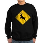 Deer crossing Sweatshirt (dark)