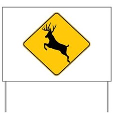 Deer crossing Yard Sign