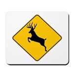 Deer crossing Mousepad