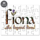 Fiona the Legend Puzzle