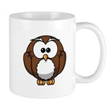 Cartoon Owl Small Mug