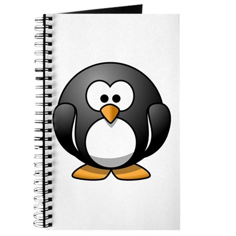 Cartoon Penguin Journal