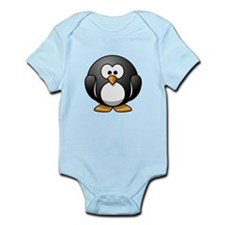 Cartoon Penguin Infant Bodysuit