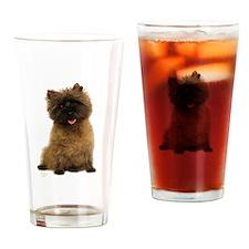 Cairn Terrier Drinking Glass
