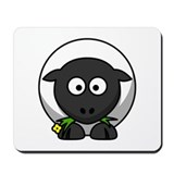 Cartoon Sheep Mousepad