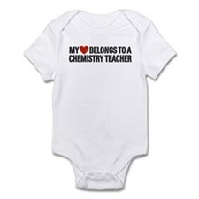 My Heart Chemistry Teacher Infant Bodysuit