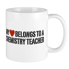 My Heart Chemistry Teacher Coffee Mug