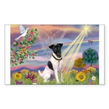 Cloud Angel / Fox Terrier Decal