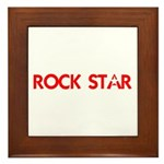 ROCK STAR III Framed Tile