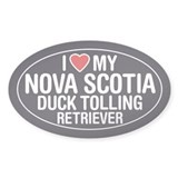Nova Scotia Duck Tolling Retriever Sticker/Decal