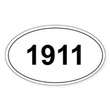 1911 Decal