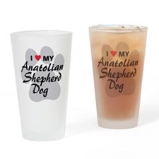 Anatolian Shepherd Dog Drinking Glass