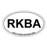 Right to Keep and Bear Arms Decal