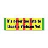 Vietnam Vets Car Magnet 10 x 3