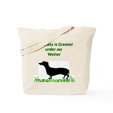 Grass is Greener Tote Bag