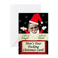 Obama Christmas Greeting Card