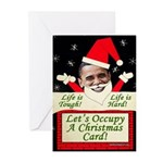 Occupy Christmas Greeting Cards (Pk of 10)