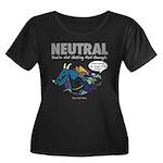 NEUTRAL Women's Plus Scoop Neck T-Shirt (black)