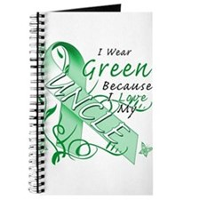I Wear Green I Love My Uncle Journal