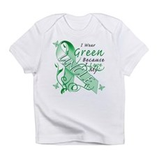 I Wear Green I Love My Uncle Infant T-Shirt