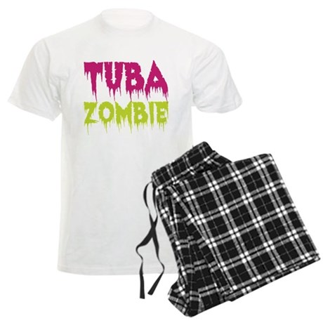 Tuba Zombie Men's Light Pajamas