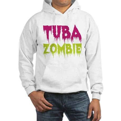 Tuba Zombie Hooded Sweatshirt